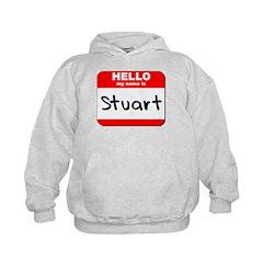 Hello my name is Stuart Kids Hoodie