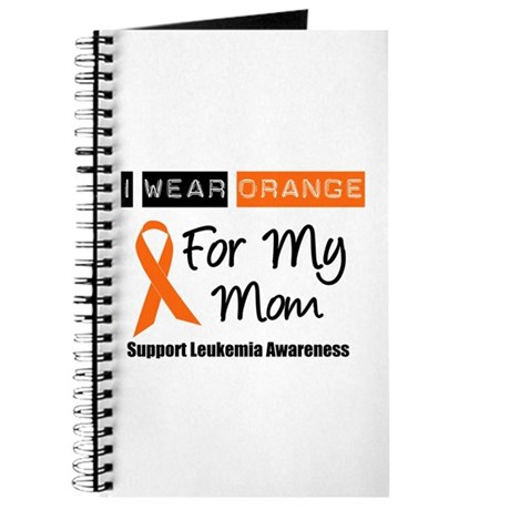 Leukemia I Wear Orange Journal