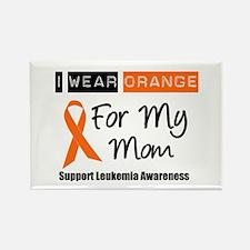 Leukemia I Wear Orange Rectangle Magnet (10 pack)