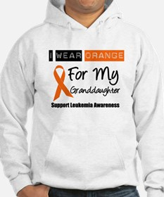 Leukemia I Wear Orange Hoodie