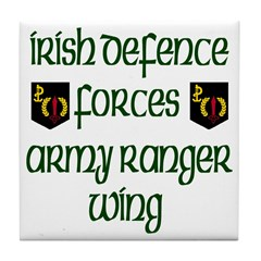 Irish Special Forces Tile Coaster