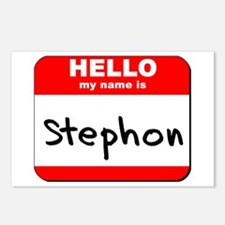 Hello my name is Stephon Postcards (Package of 8)