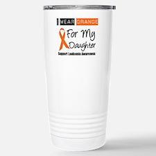 I Wear Orange For Daughter Travel Mug