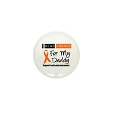 I Wear Orange For Daddy Mini Button (10 pack)