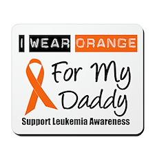 I Wear Orange For Daddy Mousepad