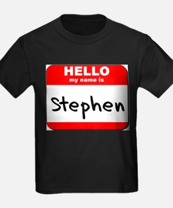 Hello my name is Stephen T