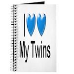 I Love My Twins Journal