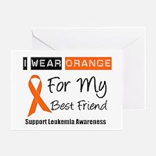 I Wear Orange Best Friend Greeting Cards (Pk of 10