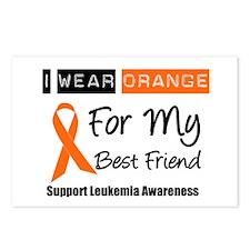 I Wear Orange Best Friend Postcards (Package of 8)