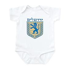 Jerusalem Emblem Infant Bodysuit