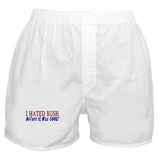 I Hated Bush - Before! Boxer Shorts