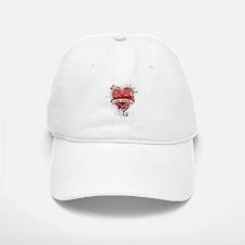 Heart Las Vegas Baseball Baseball Cap