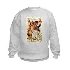 Thanksgiving Menu Kids Sweatshirt