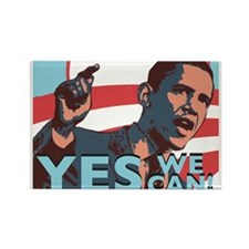 Yes We Can! Rectangle Magnet
