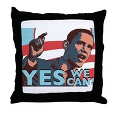 Yes We Can! Throw Pillow