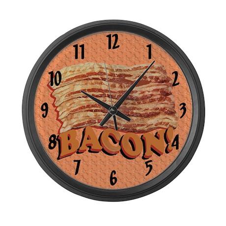Bacon Love Large Wall Clock