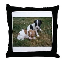 Funny Roxy Throw Pillow
