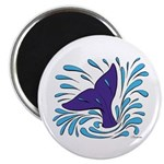 Whale Tail Splash Magnet