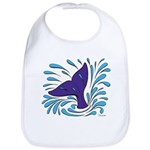 Whale Tail Splash Bib