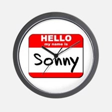 Hello my name is Sonny Wall Clock