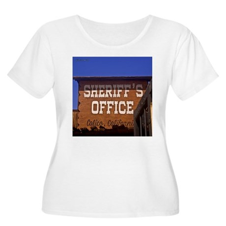 Law and Order Women's Plus Size Scoop Neck T-Shirt