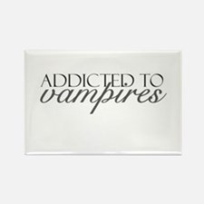 Addicted to Vampires Rectangle Magnet
