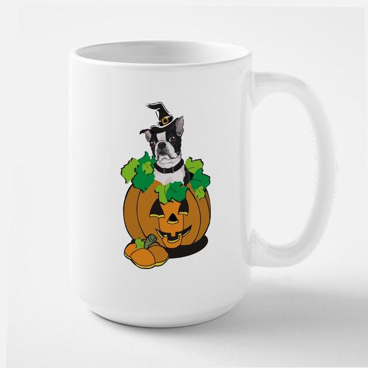 Boston in Pumpkin Mug