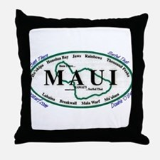 Maui - Been There Surfed That - Throw Pillow