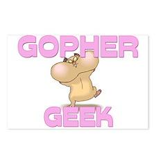 Gopher Geek Postcards (Package of 8)