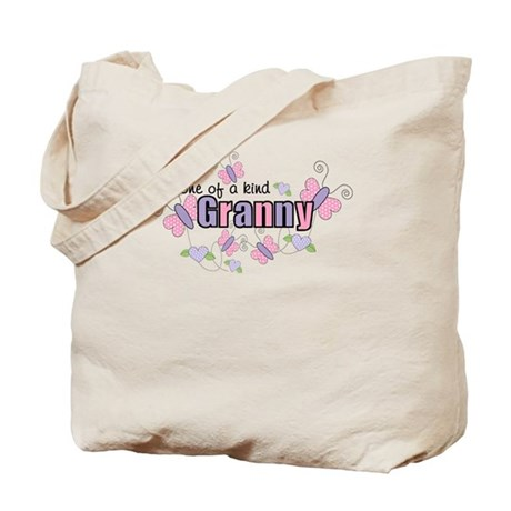 One Of A Kind Granny Tote Bag