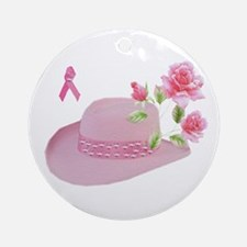 Breast Cancer Awareness Ornament (Round)