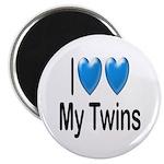 I Love My Twins Magnet