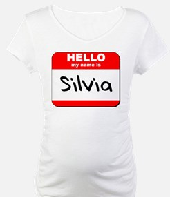 Hello my name is Silvia Shirt