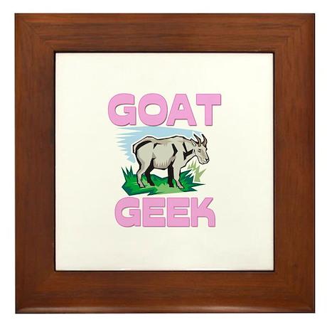 Goat Geek Framed Tile
