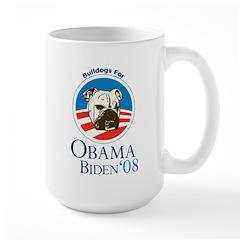 Bulldogs for Obama Mug