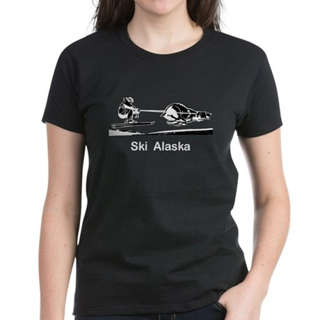Ski Alaska Women's Dark T-Shirt