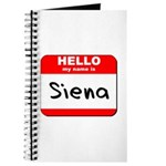 Hello my name is Siena Journal