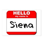 Hello my name is Siena Postcards (Package of 8)
