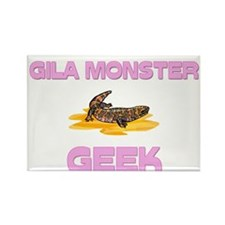 Gila Monster Geek Rectangle Magnet