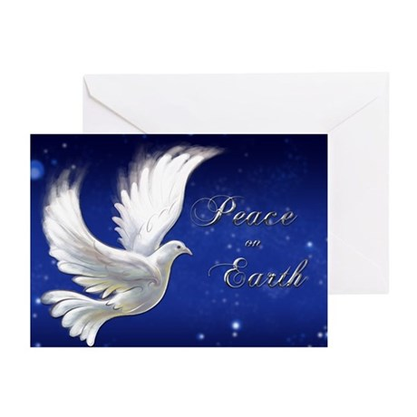 """Peace"" Greeting Cards (Pk of 10)"