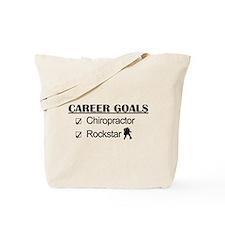 Chiropractor Career Goals Rockstar Tote Bag