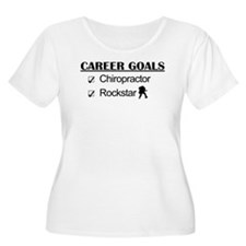 Chiropractor Career Goals Rockstar T-Shirt