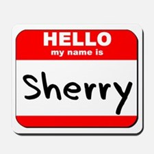 Hello my name is Sherry Mousepad