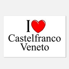 """I Love (Heart) Castelfranco Veneto"" Postcards (Pa"