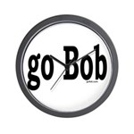 go Bob Wall Clock
