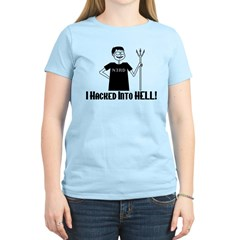 Hacked Into Hell Women's Light T-Shirt