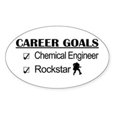 Chemical Engineer Career Goals Rockstar Decal