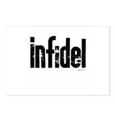 Infidel ~  Postcards (Package of 8)