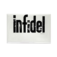 Infidel ~ Rectangle Magnet