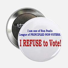 """NO VOTE #3 2.25"""" Button"""